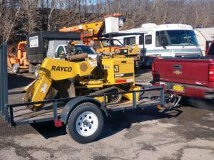 Rayco RG40 TracJr Stump Cutter
