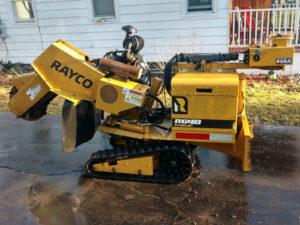 Rayco RG40 TracJr Stump Grinder