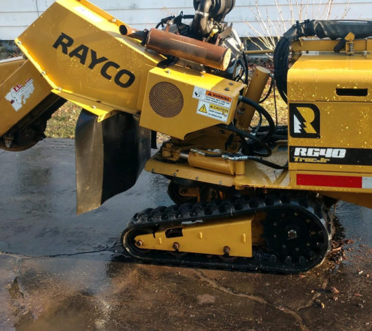 New Rayco RG40 Stump Cutter for Professional Stump Grinding Services